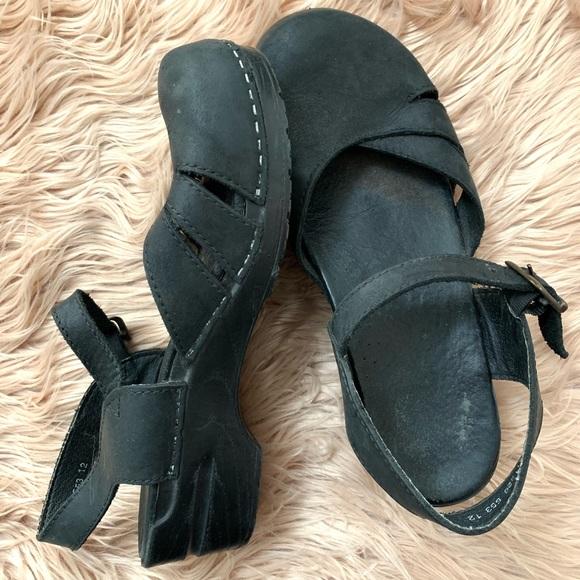 Dansko Shoes - Dansko | Black Maryjane Style Clogs - Size 41